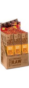 Pecan/Maca 81% Kakao Lovechock Riegel 40g