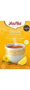 Yogi Tee Detox mit Zitrone