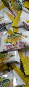 Ingwer, Honig & Zitronen Kaubonbons