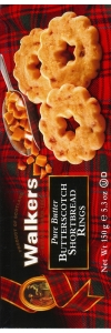 Walkers Kekse Shortbread Butterscotch 150g