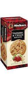 Walkers Kekse Strawberry & Cream Biscuits 150g