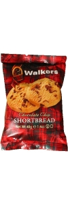 Probierpackung Walkers Kekse Chocolate Chip Shortbread 40g