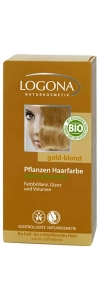 Goldblond Haarfarbe