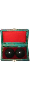 Qigong Kugeln Mandarin Jade