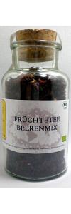 Früchtetee Beerenmix Bio im Korkenglas